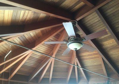 Addition Interior Beam Ceiling