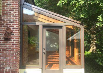 Cedar Sun Room Exterior