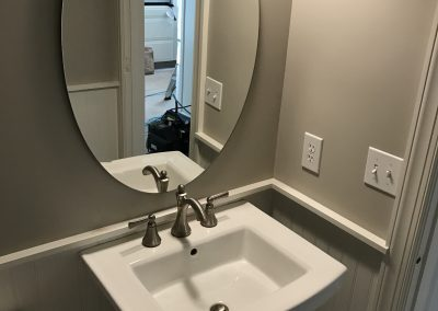 Powder Room Pedestal Sink