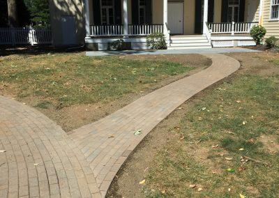 Van Meter Hall Sidewalk