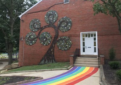 Moorestown Friends School Art Installation
