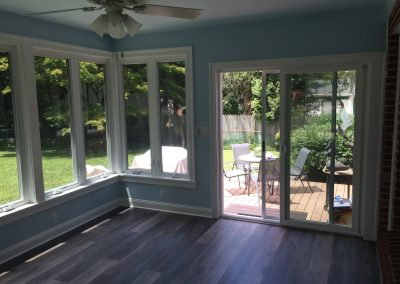 Sunroom Addition with Deck
