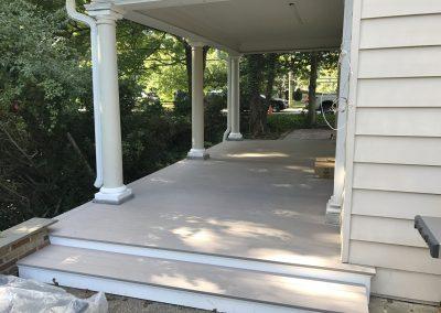 Azek Deck and Column Renovation
