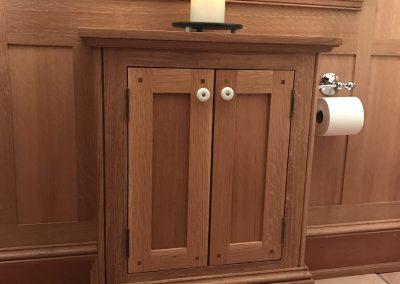 Powder Room Cabinet