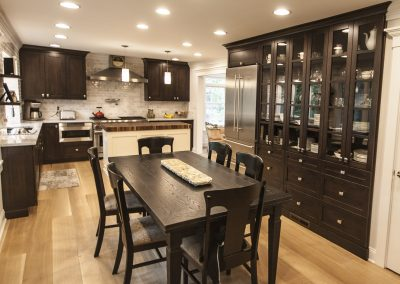 Kitchen with Quarter Sawn White Oak Flooring